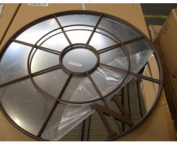 Lichidare lot de geamuri cu oglinda decorativa si buchet de leduri decorative.