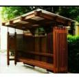 Stații de Autobuze din policarbonat sau/și lemn