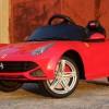 Masinuta electrica pentru copii Ferrari F12 1x 25W 12V #Rosu