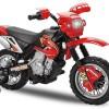 Motocicleta electrica pentru copii Enduro 30W | 6V #Rosu