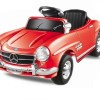 Kinderauto Mercedes 300SL Roadster 6V #Rosu