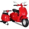 Scuter electric pentru copii cu 2 locuri City Scooter 35W 12V #Rosu
