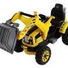 Excavator electric pentru copii CONSTRUKTOR V12 #Galben