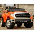 Masina electrica Toyota Tundra 2x45W pentru 2 copii, cu ROTI MOI, Music Pla