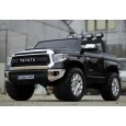 Masinuta electrica Toyota Tundra 2x45W 12V cu Scaun tapitat, ROTI EVA #Negr