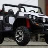 UTV electric pentru 2 copii Golf-Kart 4x45W 24V cu Bluetooth #ALB
