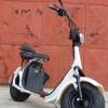 Scuter electric NITRO Eco Cruzer 1000W 60V 20 ah cu 2 locuri #Alb