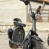 Scuter electric NITRO Eco Cruzer 1000W 60V 20 ah cu 2 locuri #Grey Matt