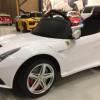 Masinuta electrica RASTAR Ferrari F12 12V cu Telecomanda, Mp3 #ALB