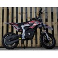 Mini Motocicleta Eco Ghepard 500W 24 V Pentru copil 4-8 ani, 3 Viteze #Rosu