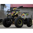 ATV electric pentru copii NITRO Torino Quad 1000W 48V GRAFITI #Yellow