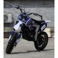 Motocicleta electrica NITRO Eco Ghepard 500W 24V, 3 Viteze, Albastru
