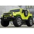 Masinuta electrica pentru 2 copii jeep outdoor echipata standard #verde