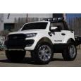 Masinuta electrica pentru 2 copii, Ford Ranger 4x4 echipata PREMIUM #Alb