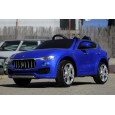 Masinuta electrica pentru copii Maserati Levante  12V PREMIUM #Albastru