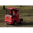 Camion electric Mercedes ACTROS echipata PREMIUM #RED