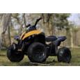 Mini ATV electric pentru copii Tiger 30W STANDARD #Galben