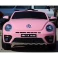 Masinuta electrica VW Beetle Dune Cabrio 90W PREMIUM #Roz