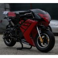 Motocicleta electrica pentru Copii, NITRO Eco TRIBO 1060W 36V #RED