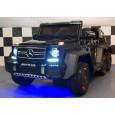 Masinuta electrica Mercedes G63 6x6 cu Mp4 si pentru Scaun adult