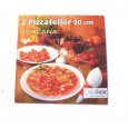 Farfurie pizza set 2buc