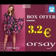 BOX OFFER! MIX ORSAY 3.2 EURO/BUC