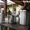 Instalatie pt preparat hidrolat si ulei esential